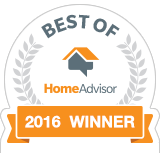 Best of HomeAdvisor 2016 Winner