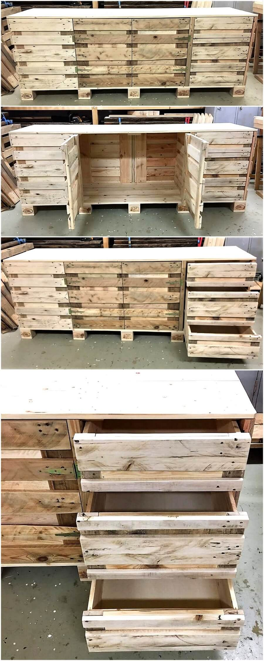 repurposed wood pallets kitchen counter table kitchen counter table Repurposed Wood Pallets Kitchen Counter Table