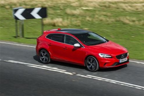 Volvo V40 Hatchback D3  4 Cyl 150bhp  R DESIGN Nav Plus 5d Road Test     Volvo V40 road test