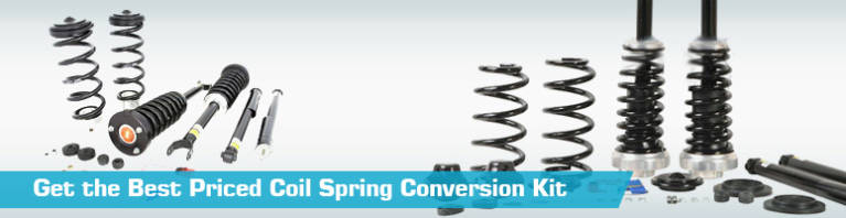Low Cost Air Spring to Coil Spring Conversion Kit   PartsGeek com Replacement Coil Spring Conversion Kits