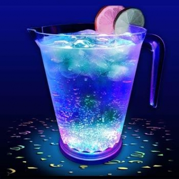 Party Pitcher-Great LED pitcher for pouring drinks at parties & home