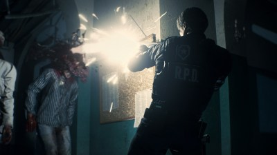 """Creating Resident Evil 2's gory """"world of wetness and darkness"""" 