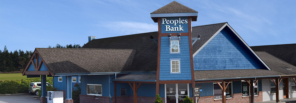 Peoples Bank - Coupeville, WA Branch. Banking, Home Loans & ATM. Hours, Address, Services