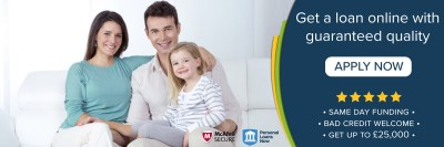 Guaranteed Loans for people with bad credit. Apply Now for Instant Decision!