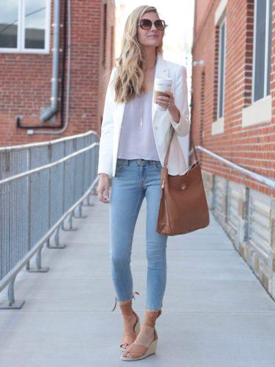 Step Hem Skinny Jeans: Summer 2017 Fashion Trend for Women