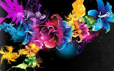 Cool abstract flower wallpaper HD | PixelsTalk.Net