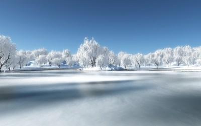 Winter Landscape Wallpaper Full HD | PixelsTalk.Net