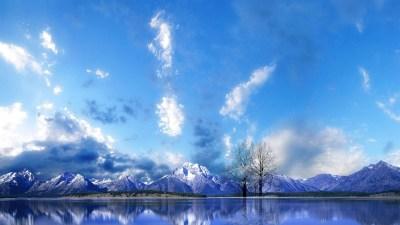 Free Mountain And Winter Wallpapers HD | PixelsTalk.Net