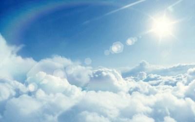 Sun And Clouds Wallpaper | PixelsTalk.Net