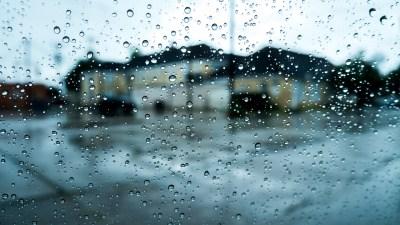Rain On Glass Wallpaper HD | PixelsTalk.Net