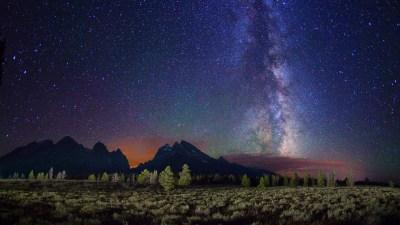 Night Mountain Wallpaper HD   PixelsTalk.Net
