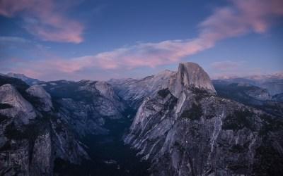 Yosemite Night Wallpaper | PixelsTalk.Net