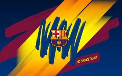 FC Barcelona Logo Wallpaper Download   PixelsTalk.Net