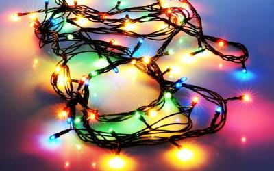 Christmas Lights Wallpaper HD   PixelsTalk.Net