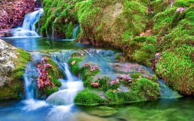 HD Wallpaper Waterfall Download | PixelsTalk.Net