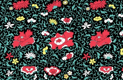 Vintage Floral Wallpaper HD | PixelsTalk.Net