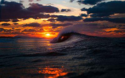 Ocean Waves Wallpaper HD | PixelsTalk.Net