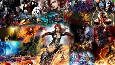 HD Comic Book Desktop Backgrounds   PixelsTalk.Net