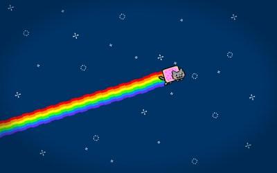 HD Nyan Cat Wallpapers | PixelsTalk.Net
