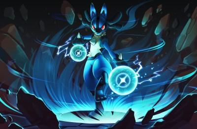 Pokemon Lucario Backgrounds Download Free | PixelsTalk.Net