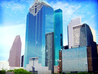 Houston Skyline Wallpapers HD | PixelsTalk.Net