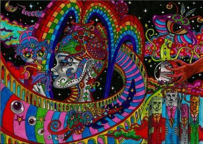 Free Download Acid Trip Background | PixelsTalk.Net