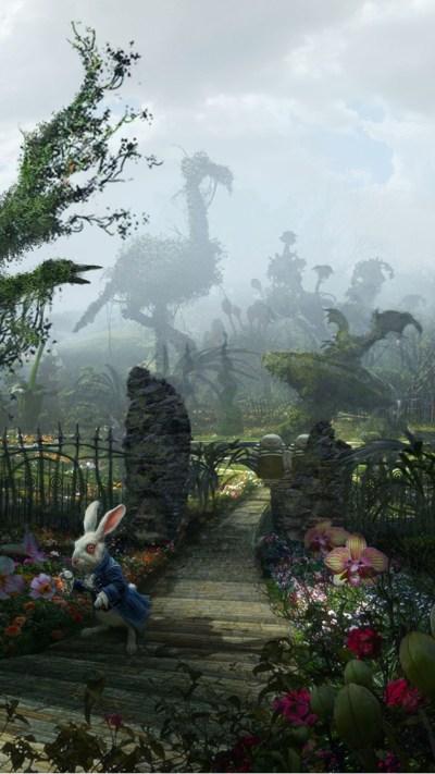 Alice In Wonderland iPhone Wallpaper | PixelsTalk.Net