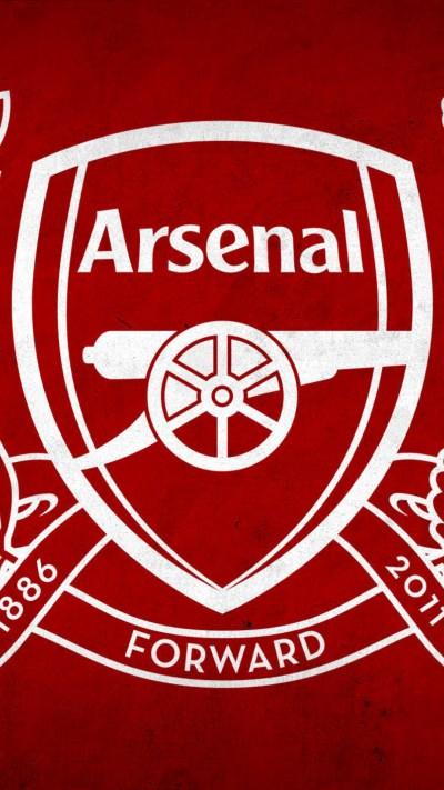 Arsenal Logo HD Wallpaper for Mobile | PixelsTalk.Net