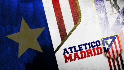 HD Atletico Madrid Logo Wallpaper | PixelsTalk.Net