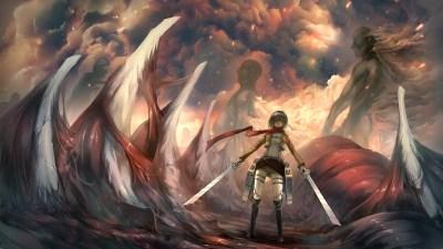Attack On Titan Wallpaper for Desktop | PixelsTalk.Net