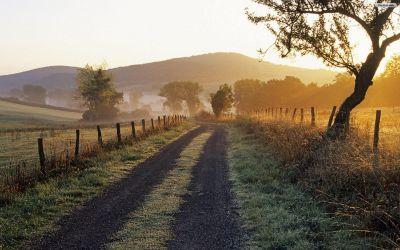 Country Road Backgrounds | PixelsTalk.Net
