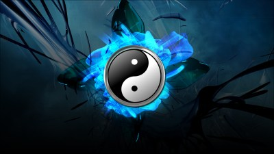 Cool Yin Yang Desktop Wallpaper | PixelsTalk.Net