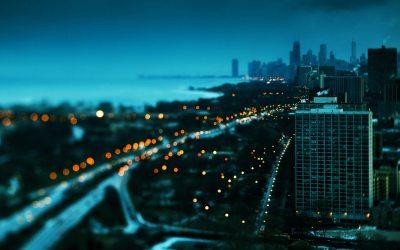Download Free City At Night Wallpaper | PixelsTalk.Net
