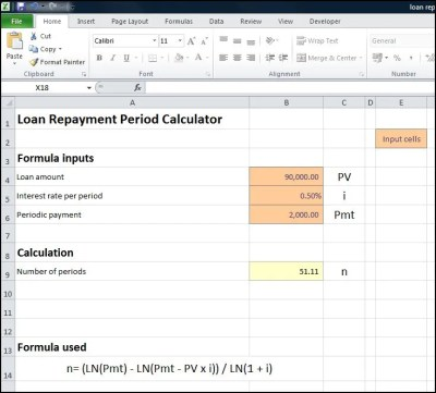 Loan Repayment Period Calculator | Plan Projections