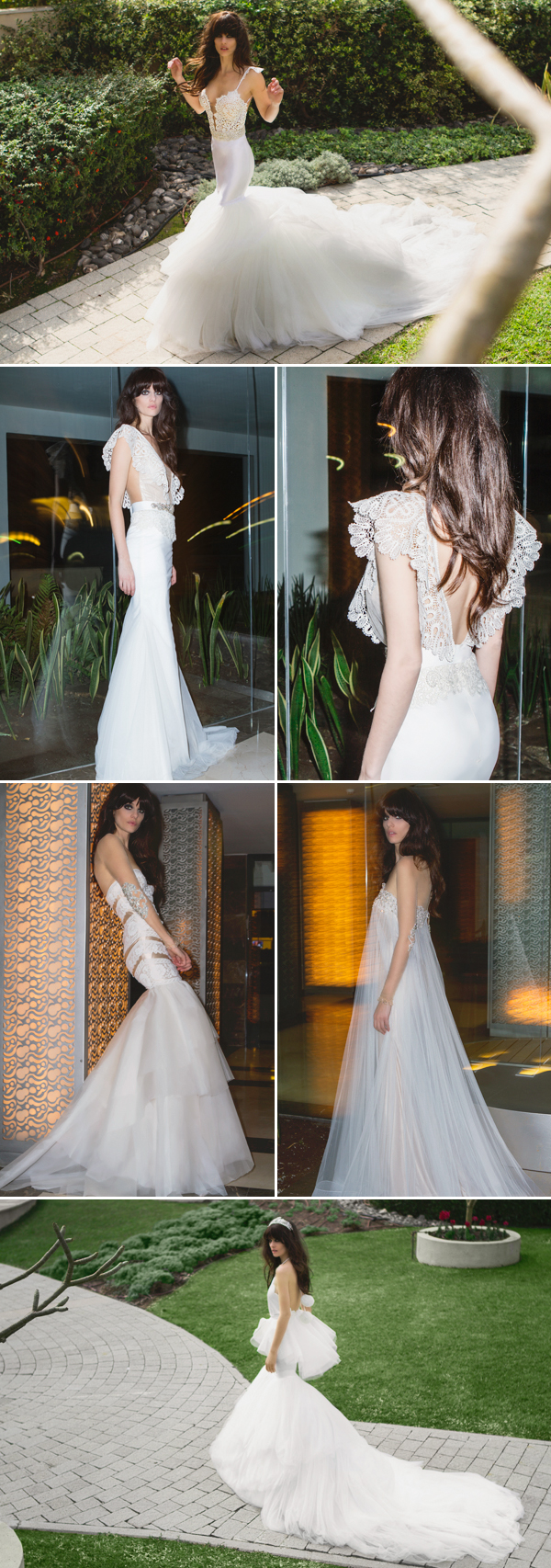 free wedding dresses Praise Wedding You are based in Israel does the culture influence your creations in any way