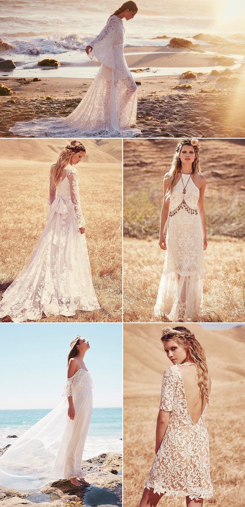 free wedding dress Free People Ever After Bridal