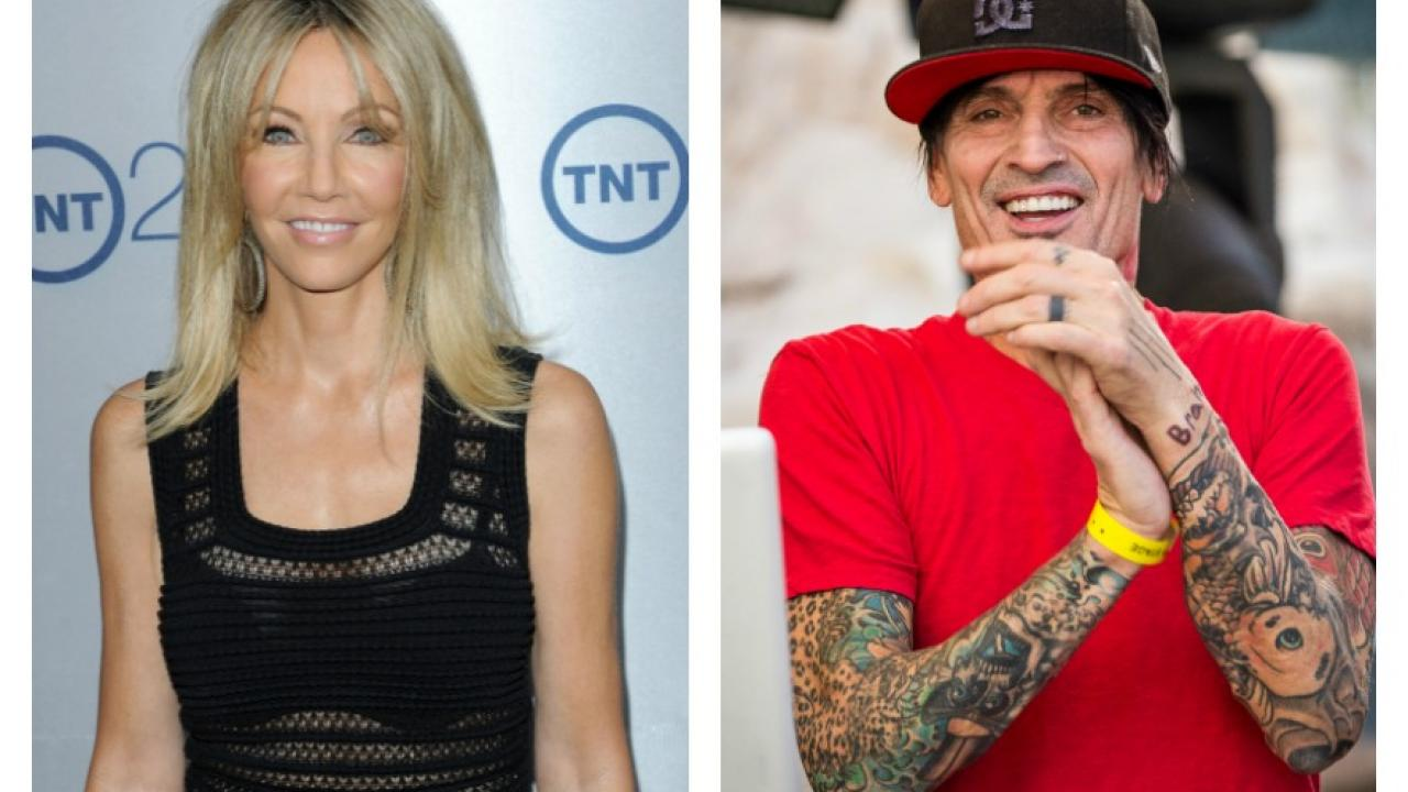 Heather Locklear d    terre une photo bien trop intime avec Tommy Lee     DR