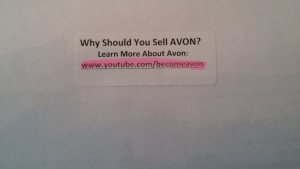 Label Tips  Avon Book   Press on with Alice Labels Share Information