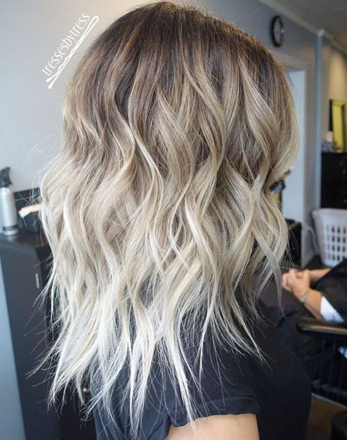 Hottest Ombre Hair Color Ideas   Trendy Ombre Hairstyles 2018     Brown to blonde ombre hair for shoulder length hair