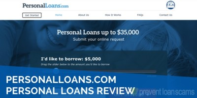 PersonalLoans.com Loans Review 2019 | Interest Rates & Comparison
