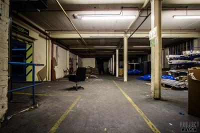 PROJ3CTM4YH3M Urban Exploration | Urbex: Abandoned Wallpaper Warehouse and Store, Somewhere ...