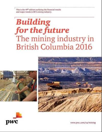 The Mining Industry in British Columbia, PwC Canada