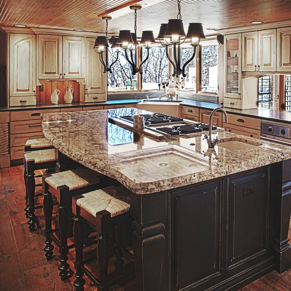 kitchen island design ideas kitchen designs with islands expansive marble island with stove top and sink kitchen island designs quinju com