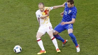 PARTIDAZO: Croacia vence a España   CRE Satelital..
