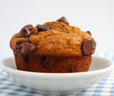 Pumpkin- Chocolate Chip Muffins