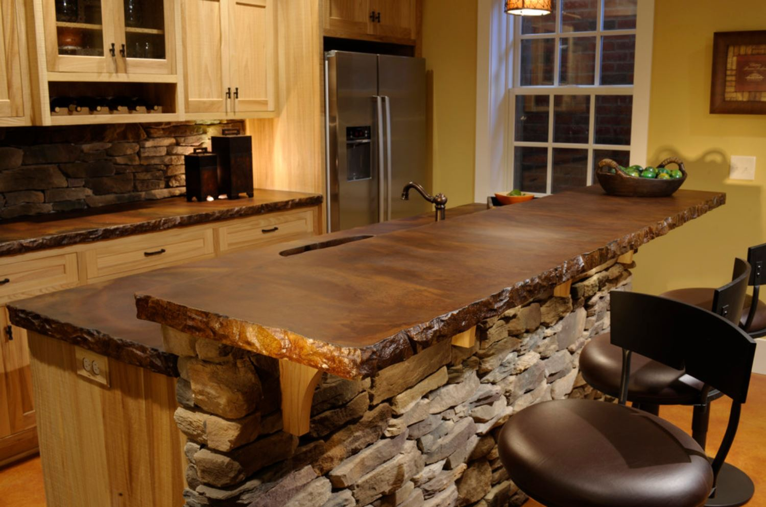 top 10 countertops prices plus pros and cons countertops for kitchens custom concrete countertop with rough edges