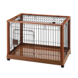 Expandable Pet Crate, Large Dog & Cat Kennell, Orthopedic ...
