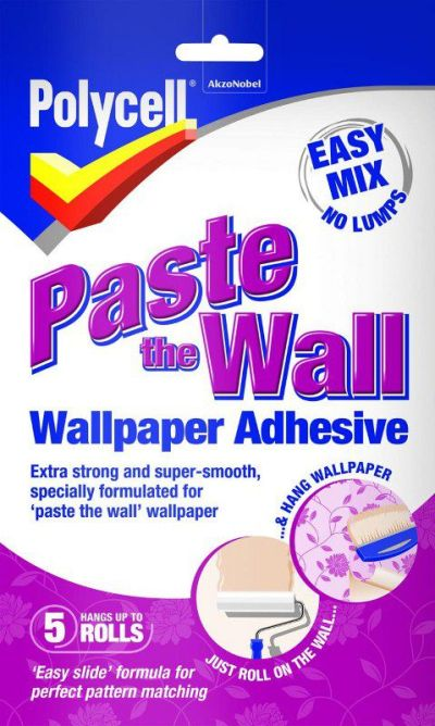 Polycell - Paste The Wall - Wallpaper Adhesive