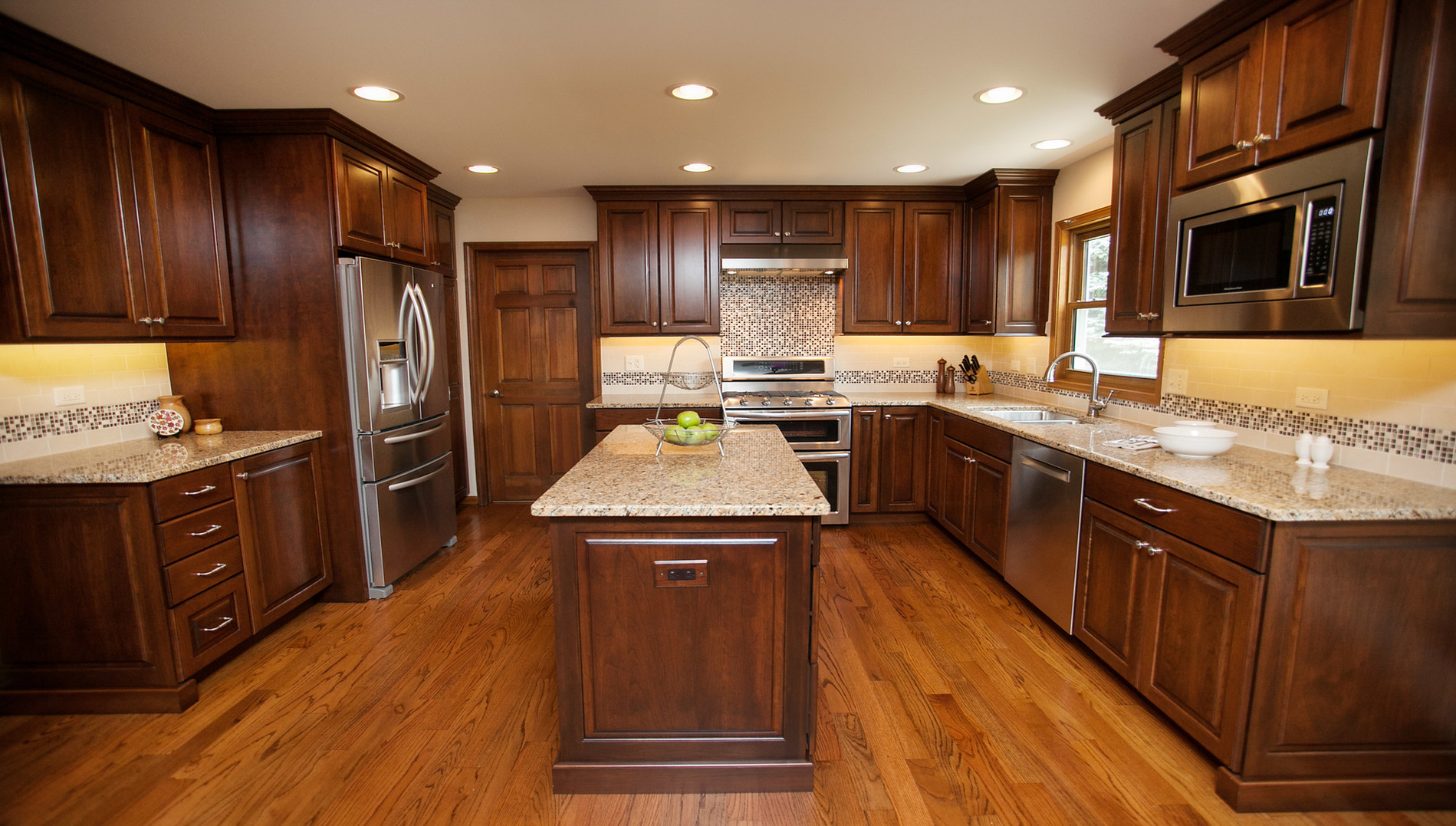 tempting traditional amish kitchen cabinets This elegant kitchen boasts richly finished cherry custom Amish cabinetry ample work space and serving areas