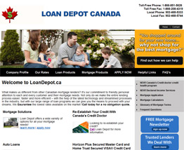 Mortgage Broker Live Website Examples, Mortgage Agent Live Website Examples